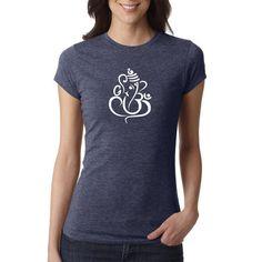 Meditation-Shirt Ganesha Shirt Yoga Shirts Yoga von PrintFarmUSA