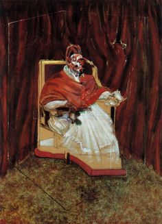 Study for Portrait of Pope Innocent X, Francis Bacon, 1965