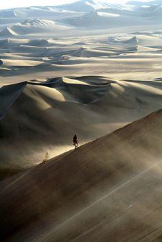 ♂ Solo man and nature Huacachina , Ica , Peru , Nazca , Desert