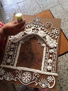 Discover thousands of images about Mural work Discover thousands of images about Mural work Clay Art Projects, Clay Crafts, Diy And Crafts, Clay Wall Art, Mural Wall Art, Art N Craft, Diy Art, Ceramic Painting, Ceramic Art