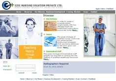 Web Site Design for medical industry