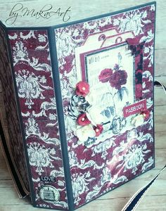 """My album """"Passion"""" http://makaart14.blogspot.sk/2016/09/holmes-in-love.html?m=1  My journey through the Scrapbookworld...: *Holmes in Love...*"""