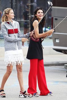 Kendall Jenner and Gigi Hadid Are the Trendiest BFFs