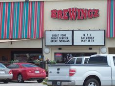 "Lots of ""Great"" things at BreWingz in Baytown, Texas. http://PinnacleCreative.net"