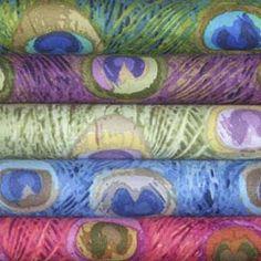 Peacock+Fabric | Peacock fabric!