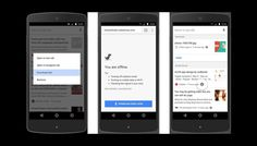 Now you can download pages offline On Google Crome