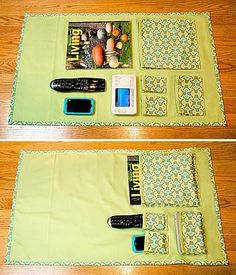 Sew Your Own Remote Control Caddy                                                                                                                                                                                 More