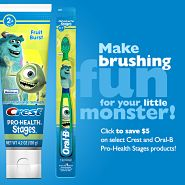 Procter & Gamble's Crest and Oral-B are rewarding parents who get their children to brush their teeth with exclusive content and mobile offers via the ChoreMonster application. The app includes how-to videos that help children learn how to complete the task
