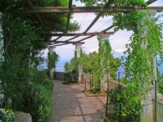 Villa San Michele, Axel Munthe's beautiful house and garden on Capri, Italy