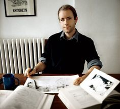 """Mr. Reif Larsen author and illustrator of """"The Selected Works of T. S. Spivet"""""""
