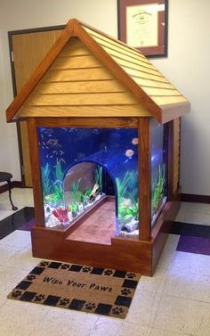 Awesome Fish Tank/dog House!