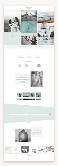 Sierra is a feminine and beautiful genesis child theme perfect for photgrphers Website Design Layout, Homepage Design, Web Design Trends, Web Layout, Web Design Inspiration, Layout Design, Design Ideas, Photography Settings, Photography Themes