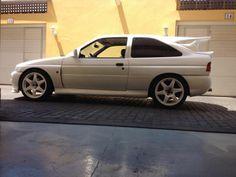 Ford Escort Cosworth white