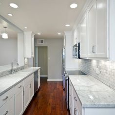 Galley Kitchen Remodeling Pictures