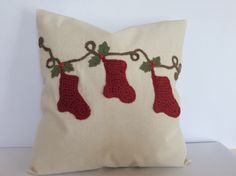 A personal favorite from my Etsy shop https://www.etsy.com/listing/208127508/christmas-throw-pillow-cover-christmas