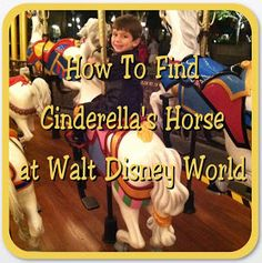 Did you know one of the horses on Prince Charming Regal Carrousel belongs to Cinderella? Rumor has it that she has her own horse on thi...