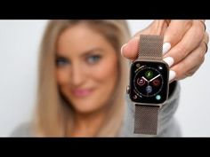 – Today we are unboxing the brand new Apple Watch. This is the 40 millimeter gold version. Camera Test, Camera Phone, Gold Apple Watch, Apple Watch Bands, Smartwatch, Apple Watch Unboxing, Justine Ezarik, Ecg App, Sony A7s Ii