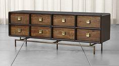 crate and barrel Zander 8-Drawer Dresser on astral riles 1