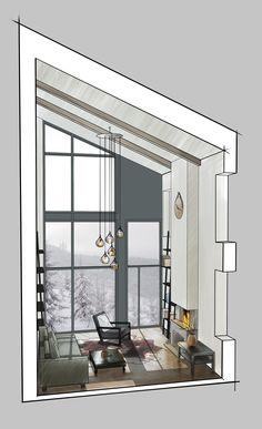 Interior idea  sketch