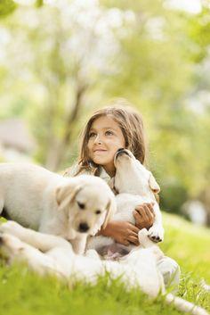 Beautiful friends  | kids with pets | | pets | | kids |  #pets https://biopop.com/