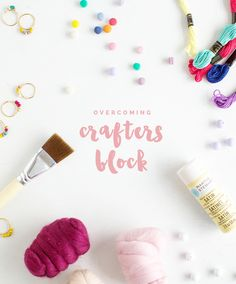 Fall For DIY Overcoming Crafters Block