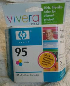 Genuine HP Ink Cartridge 95 Tri Color New Factory Sealed Box C8766WN #HP