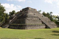 The Mayan Ruins of Chacchoben, Costa Maya, Mexico