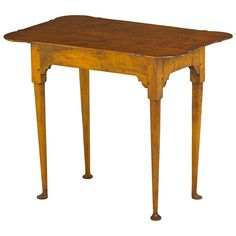 Porringer Top Tea Table 1500