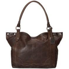 $358.00 Frye Melissa Shoulder (Slate Antique Pull Up) Shoulder Handbags