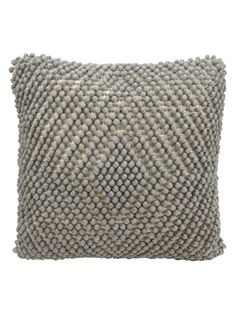 Life Styles Loop Diamond Pillow by Nourison at Gilt