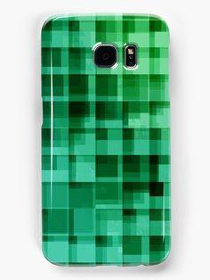 green squares pattern by VIVIDVIVI