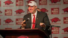 Coach Bielema Arkansas Razorbacks-----Razorback football !!!!! Go Hogs