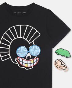 3e11c713f7a9 Arlo Velcro Patches T-shirt Stella Mccartney Kids
