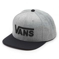 a4dbeabde2c01 Vans Vans Drop V Snapback Hat ( 39) ❤ liked on Polyvore featuring  accessories