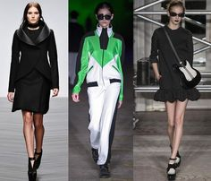 London Fashion Week Day 2 : more structured sci-fi inspiration from David Koma, Thomas Tait and Moschino Cheap & Chic