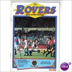 Blackburn Rovers v Chelsea 15/5/1988 Play-Off Semi Final Football Programme Sale