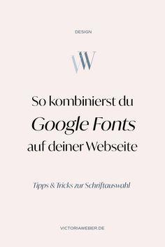 Google Fonts Kombinationen: Suchst du nach der passenden Schrift für  deine Webseite? Mit Google Fonts hast du kostenlosen Schriften für deine  Homepage. Ich zeige dir die besten Schrift Kombinationen und wie du  Google Fonts kombinieren kannst. Die besten Schrift Kombinationen mit  den kostenlosen Google Schriften für deine Website!
