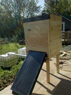 DIY Herb Dryer with Solar Panel