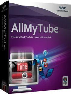 Wondershare AllMyTube 4.10.2.3 Crack + License Key Full Version