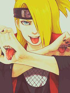 Deidara #Naruto