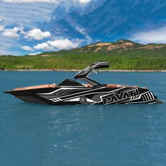 New Wakeboard Boats Wraps Around The Worlds Ideas Wakeboarding, Wakeboard Boats, Row Row Your Boat, Boat Wraps, Ski Boats, Boat Stuff, Yacht Boat, Speed Boats, Luxury Yachts