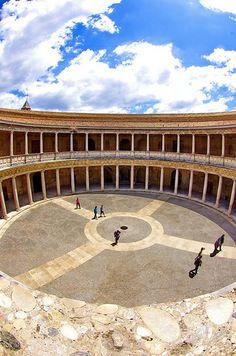 Grenade - Granada 195 Alhambra Palacio de Carlos V