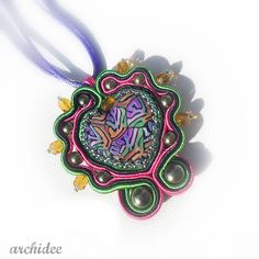 Tutorial step by step  Ciondolo Soutache Cuore Lyanna di archidee, €4.00
