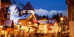 pretty Christmas town