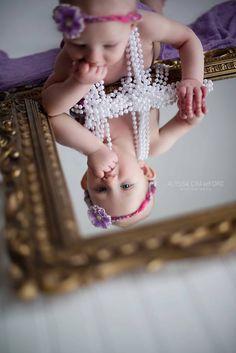 #baby #6months #babyphotoideas