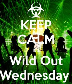 Wild Out Wednesday!! Today I felt like wilding out with my workout.  I ran 2 miles, 6 minutes on the stairs, and then zumba!!! YEAH!