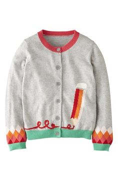 Mini Boden 'Fun' Cardigan (Toddler Girls) available at #Nordstrom