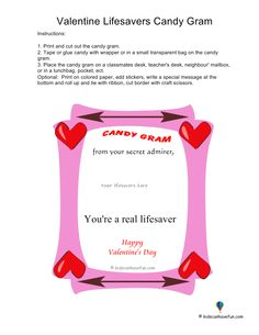 Candy Grams  Teacherly Things  Pinterest  Candy grams