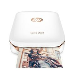 $129 BUY NOW    For Social Media Lovers    The brand-new HP Sprocket is a cool portable photo printer that enables your favorite social media aficionados to get physical copies of their best mobile photos. Designed to work with Apple iPhone and Android smartphones via a free app, this Bluetooth gadget utilizes zero-ink photo paper.