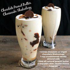 Chocolate Peanut Butter Cheesecake Shakeology